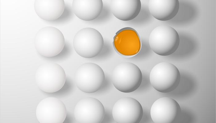 Készíts tojásból arcpakolást otthon